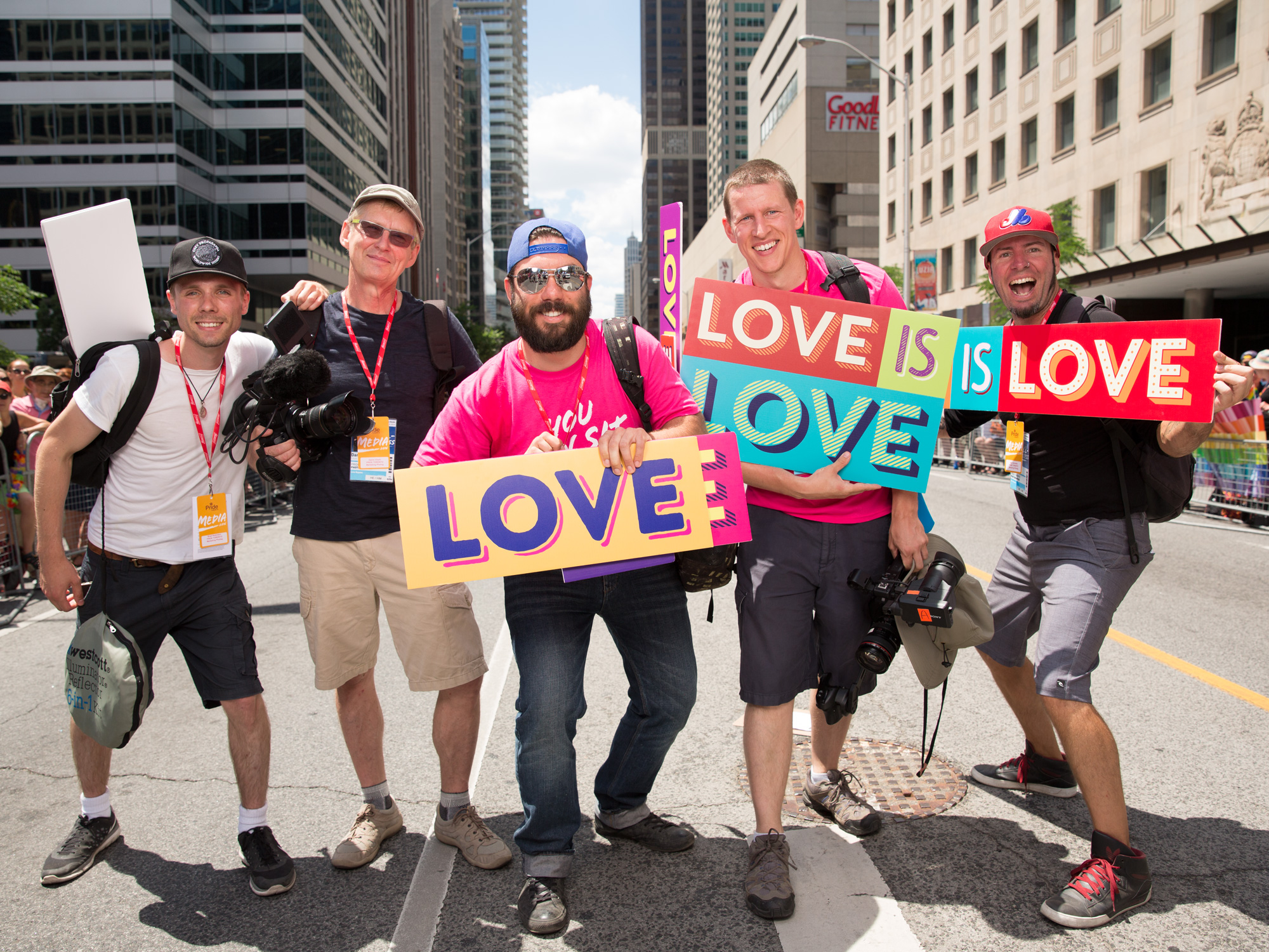 Crucial Pictures Film Crew - Pride Festival - Toronto